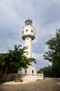 Crocodile hill lighthouse weizhou island china landmark in beihai city Stock Image