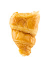 Croissant isolated on white background Royalty Free Stock Photo