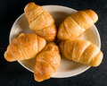 Croissant rolls Stock Photography