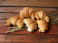 Croissants Stock Photos