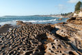 Cronulla sydney coastal landscape in australia Royalty Free Stock Photo