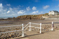 Crooklets beach bude cornwall sandy england uk Royalty Free Stock Photography