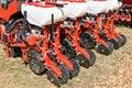 Crop sprayer machinery Royalty Free Stock Photo