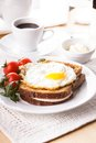Croque Madame Royalty Free Stock Photography