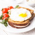 Croque Madame Stock Photography