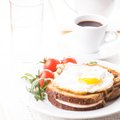Croque Madame Royalty Free Stock Photo