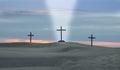 Cross Beam Of Light Royalty Free Stock Image