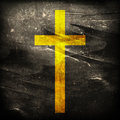 Cross on grunge background abstract Royalty Free Stock Photos