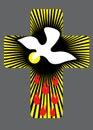 Cross With Holy Spirit Illustr...