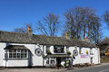 Cross keys inn village pub tebay cumbria on the a road from kendal to brough via kirkby stephen Royalty Free Stock Photos