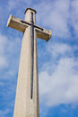 Cross of Sacrifice Royalty Free Stock Photography