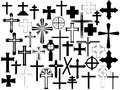 Cross set Stock Images