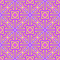 Cross stitch seamless pattern. Embroidery background. Royalty Free Stock Photo