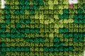 Cross stitching close-up Royalty Free Stock Photos