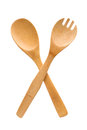 Crossed fork and spoon sign Royalty Free Stock Photo