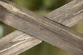 Crossed Wooden Planks Stock Photos