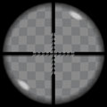 Crosshair put your text or picture behind the or reticle used for precise alignment or for aiming with firearms Stock Photos