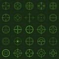 Crosshairs Stock Photos