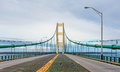 Crossing the Straits of Mackinac Royalty Free Stock Photo