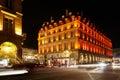 Crossroad of Rue de Rohan and Rue de Rivoli Royalty Free Stock Photos