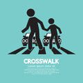 Crosswalk Graphic Sign