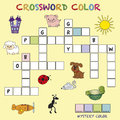 Crossword color