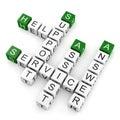 Crossword Help Royalty Free Stock Photo