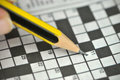 Crossword puzzle Royalty Free Stock Photography