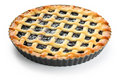Crostata, italian homemade tart Stock Image