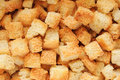 Crouton close up. Royalty Free Stock Photo