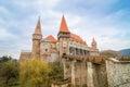 Crovinilor Castle in Hunedoara region of Romania Royalty Free Stock Photo