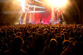 Crowd at the primal scream concert at vida festival barcelona jul on july in barcelona spain Stock Photography