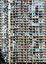 Crowded apartments Royalty Free Stock Photo
