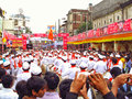 Crowded during Ganesh Festival Royalty Free Stock Photo
