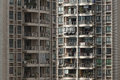 Crowded housing in china Royalty Free Stock Images