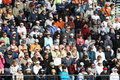 Crowded Tennis Stadium. Stock Image