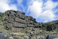 Crowden quarry disused workings Royalty Free Stock Photo