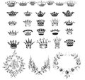 Crown Collection and laurel wreaths