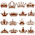 Crown icon collection easy to edit vector illustration of Royalty Free Stock Image