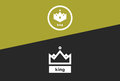 The Crown of Kings Royalty Free Stock Photo