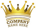 Stock Photo Crown Logo