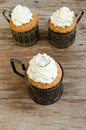 Crown Muffins Royalty Free Stock Photo