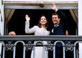 Crown princess mary crown prince frederik file photo oct and pirnce has canclled their first thier officiel tour to rio brasin to Stock Photography