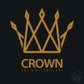 Crown Royal icon. vector