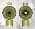 Crown seals Stock Photo