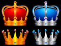 Crowns. Royalty Free Stock Images