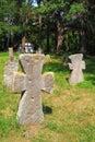 Cruces antiguas Fotografía de archivo libre de regalías