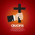 Crucifix Photographie stock libre de droits