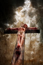 Crucifixion Royalty Free Stock Photography