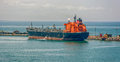 Crude oil tanker Royalty Free Stock Photo